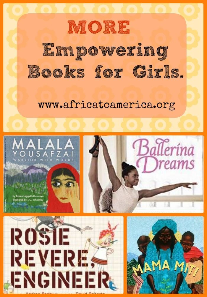 A list of multicultural books that empower girls -- including one about adoptee Michaela DePrince, a famous African American ballerina! Women's Books, Diet, Fitness, Fashion, Makeup, Relationships - http://amzn.to/2hmeH1Y