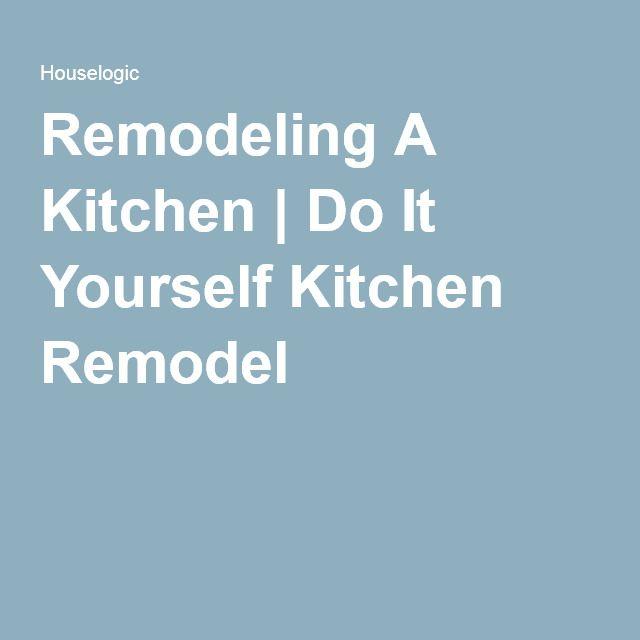 46 best kitchen design images on pinterest kitchen ideas for Do it yourself kitchen remodel