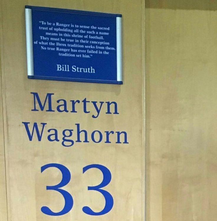 Rangers, Martyn Waghorn