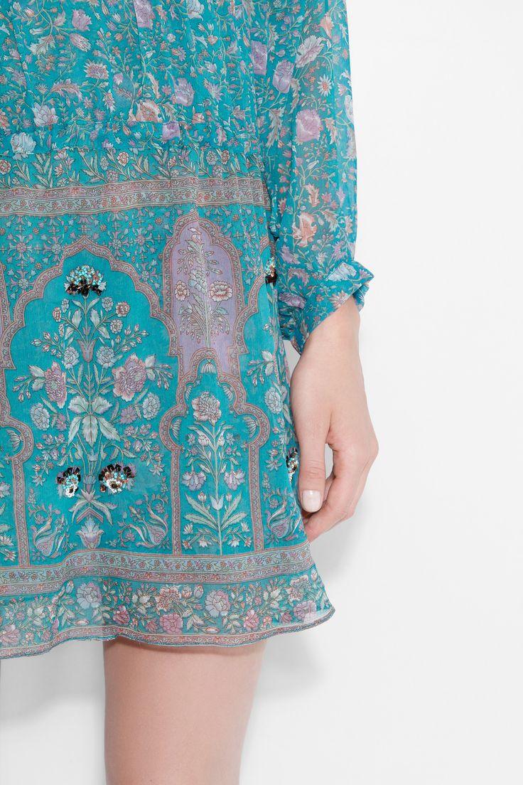 Robe Rima, turquoise, Zadig & Voltaire