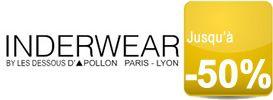 Sous-vêtements, maillots de bain et T-Shirts pour Homme soldés jusqu'à -50% chez Inderwear