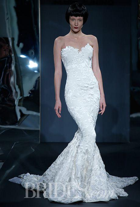 Trumpet Wedding Dresses Kleinfeld : Drop waist ball gown wedding dress trumpet dresses