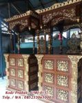 Mimbar Masjid Kayu Jati Ukiran Mewah