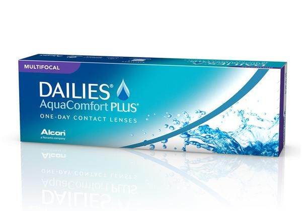 Buy Dailies AquaComfort Plus Multifocal 30 Pack contact lenses online. 50-70% off retail contact lenses in Canada. Get free shipping to Canada or US. No minimum order needed! No taxes!
