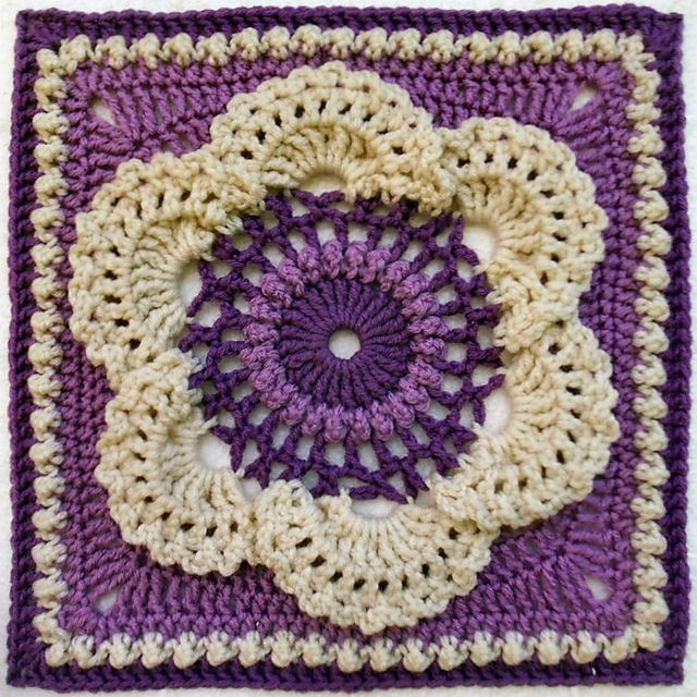 Cow Parsley 1953 Part Of The Post: 1000+ Images About CROCHET AFGHANS On Pinterest