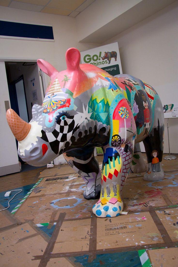Go! Rhinos #illustration #drawing #illustrator