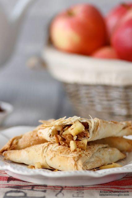 La tana del coniglio: Fagottini di pasta fillo con mele e noci pecan