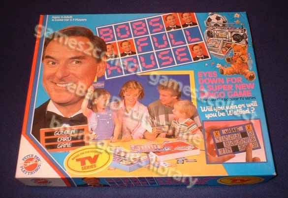 board games from the 1980's | Details about Bob's full house board game 1980s Bob Monkhouse
