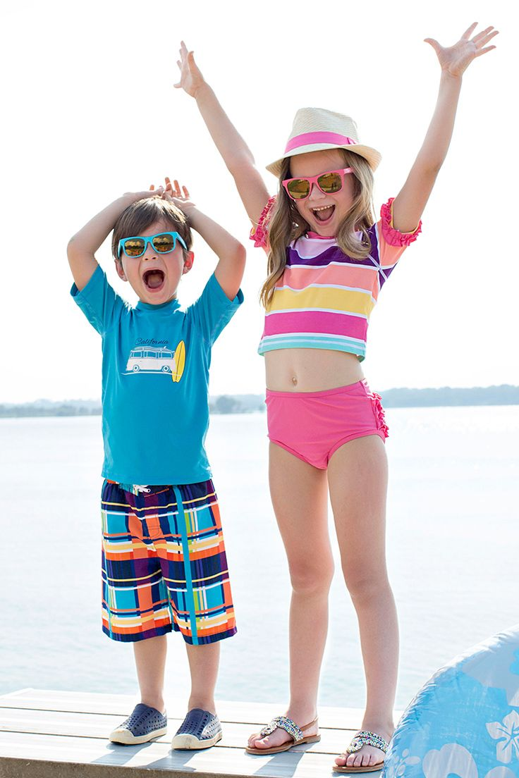 Summer looks for both brother and sister!