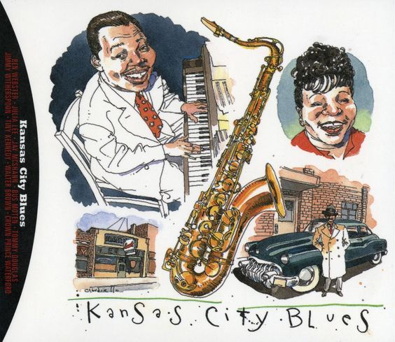 "'Kansas City Blues"" by Joe Ciardiello Capitol Blues Collection (1995)"