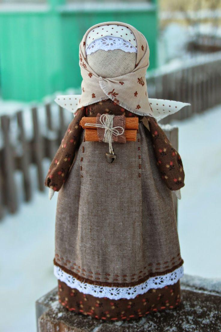 """Новенькая кукла Ангел """"Пряная корица"""". Получилась очень теплая, уютная, домашняя и очень ароматная. Как всегда только натуральные матери..."""