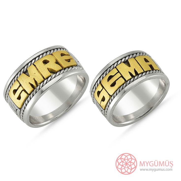 Gümüş Alyans MYA1009   #gümüş #alyans #çelik #yüzük #ring #wedding #evlilik #düğün #söz #nişan #mygumus #mygumuscom #çift #erkek #kadın #woman #man #moda #takı #jewellry