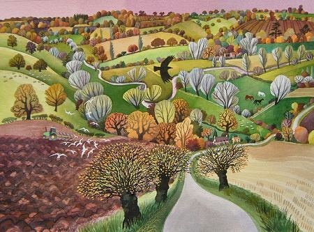 Carry Akroyd - Painter and printmaker