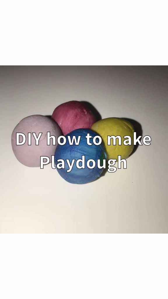How To Make Your Own Play Doh