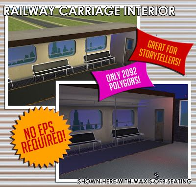 Male-Order Bride: Scene Prop: Railway Carriage Interior
