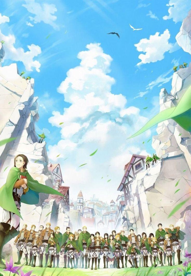 Las 40 mejores ilustraciones de Shingeki no kyojin - Taringa!