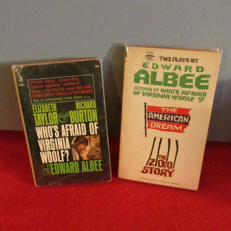 Vintage Plays By Edward Albee by TheBookE on Etsy