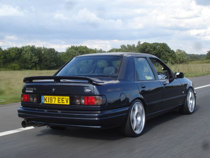 Ford Sierra (Sapphire) RS Cosworth beast of a car , a real thing of beauty