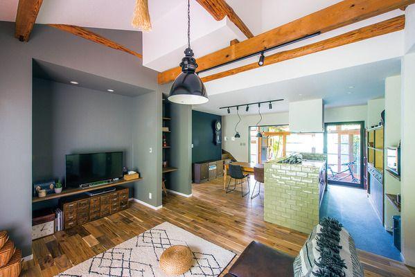 間仕切りの多い家を効果的に間取り変更し 大きい寒暖差の緩和 収納