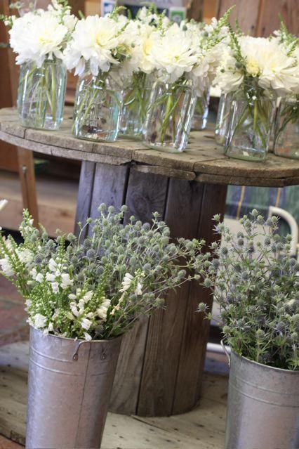 Best 25 Tin Buckets Ideas On Pinterest Rustic Table