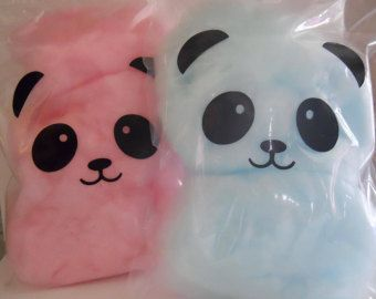 Panda Party Cotton Candy Favors Panda Birthday Panda Party