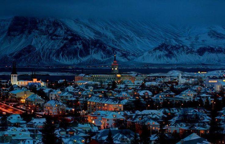 Reykjavik, Iceland Christmas