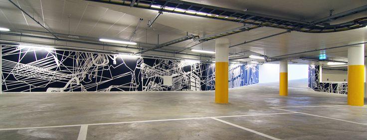 Jan Christensen #creative #installation #illustration #lines