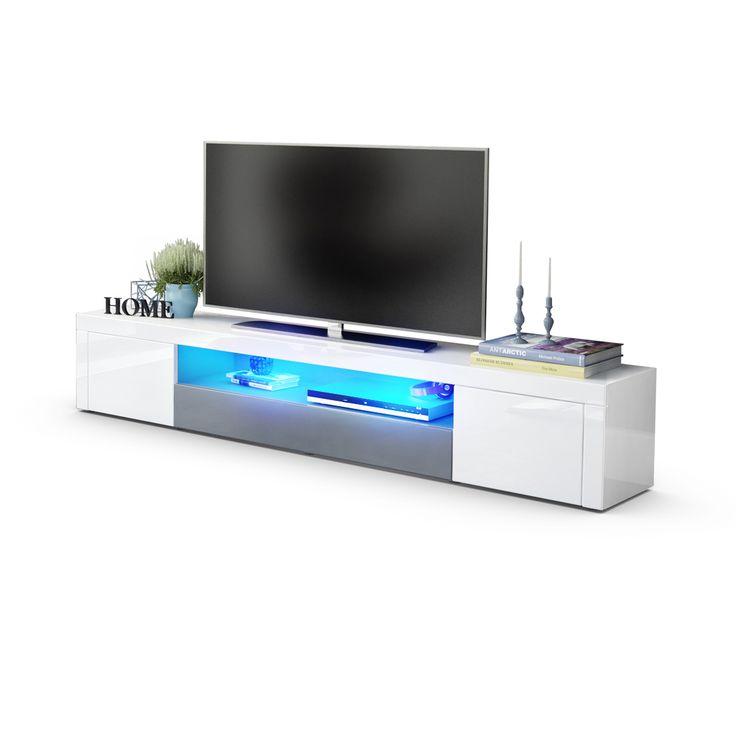 Santiago V2 TV-Board mit und ohne LED-Beleuchtung/Fernbedienung erhältlich bei vladon.de