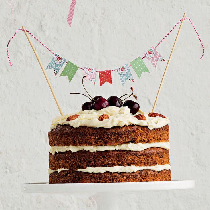 Sugarless carrot cake - MyKitchen