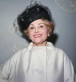 Jolie Gabor  The mother of Zsa Zsa, Eva, and Magda Gabor.