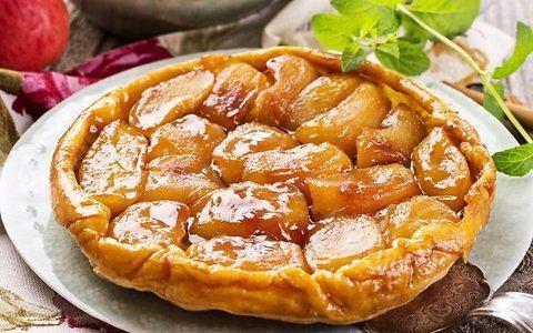 Apverstas prancūziškas obuolių pyragas - Virtuvė - m.moteris.lt
