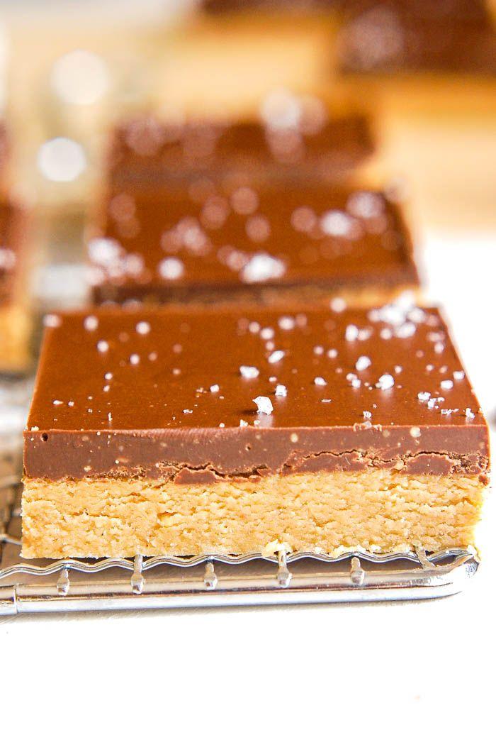 No-Bake Chocolate Peanut Butter Bars (vegan, gluten-free