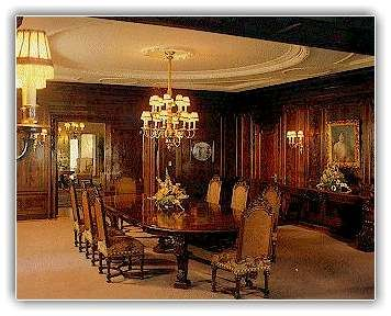 Dining Room In Fair Lane Henry Ford S Mansion In Dearborn