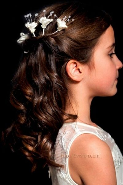 Cute Hairstyles for Kids with Curly Hair-7 #prom hairstyles