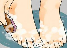 Опустите ноги в яблочный уксус — и болезни уйдут! Сами удивлены...