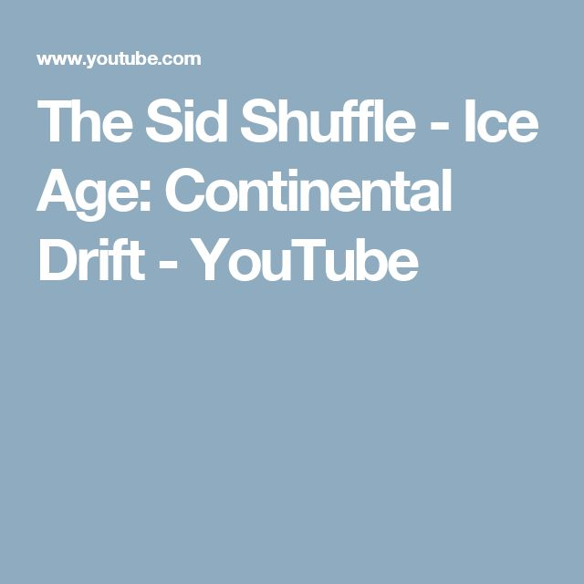 The Sid Shuffle - Ice Age: Continental Drift - YouTube