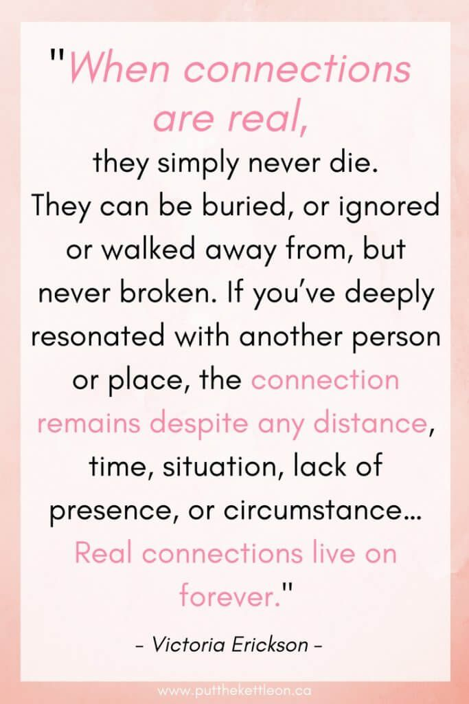 Spiritual Connections With Those We've Lost | {Put The Kettle On