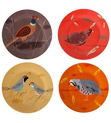 Набор закусочных тарелок Game Birdy