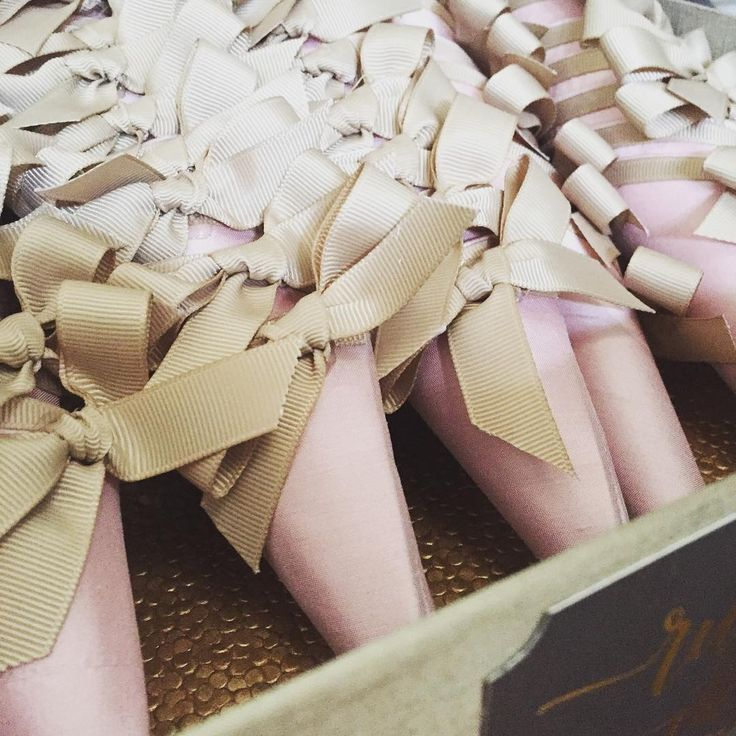 """Who doesn't love the luxury of silk... Paper cones wrapped in raw silk in blush…"