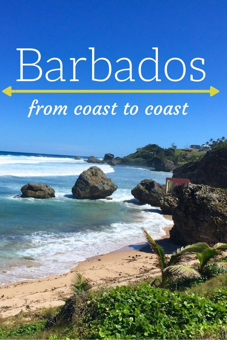 Barbados is a tiny piece of Caribbean heaven! Each coast is different from the next and there's always something beautiful waiting around the next corner! This coast to coast guide will tell you what to expect on each edge of the island.