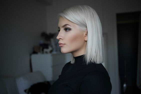 Icy Bob (long bob platinado) https://benvindablog.wordpress.com/