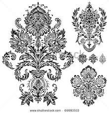 the 25 best damask tattoo ideas on pinterest filigree design baroque tattoo and lace design. Black Bedroom Furniture Sets. Home Design Ideas