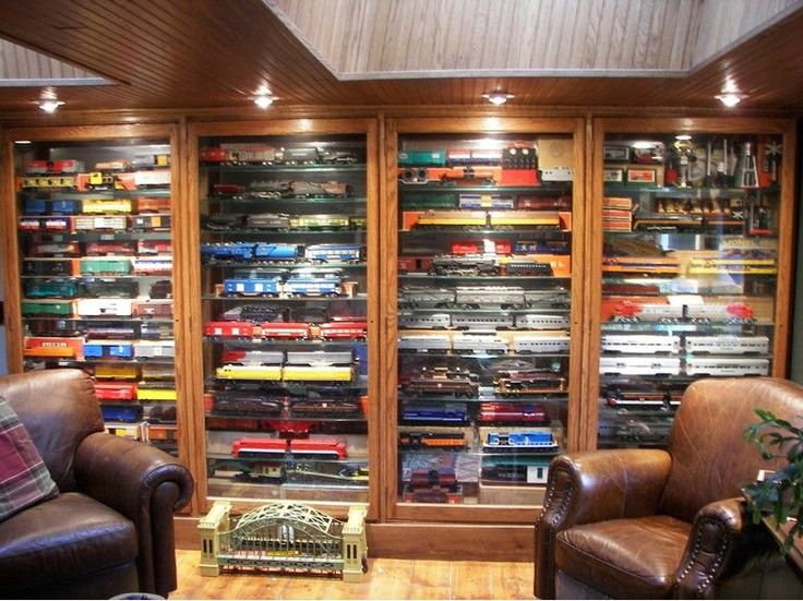 19 Best Man Caves With Trains Images On Pinterest
