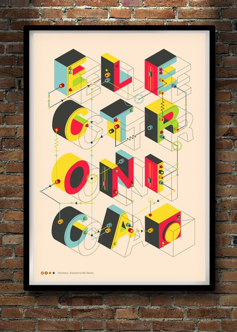 Electronica / Light by Neil Stevens Print Shop