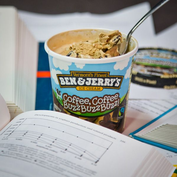 Need a little pick me up?  Try @Ben & Jerry's #Coffee Coffee Buzz Buzz Buzz #flavor and get your second wind!