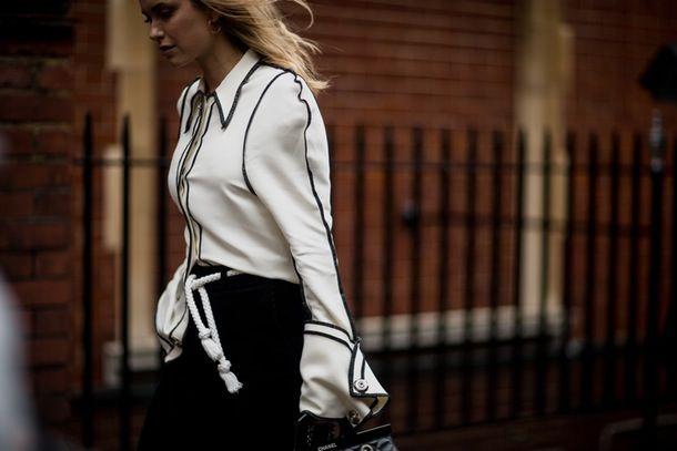 Se den flotteste streetstyle fra London Fashion Week | Costume.dk