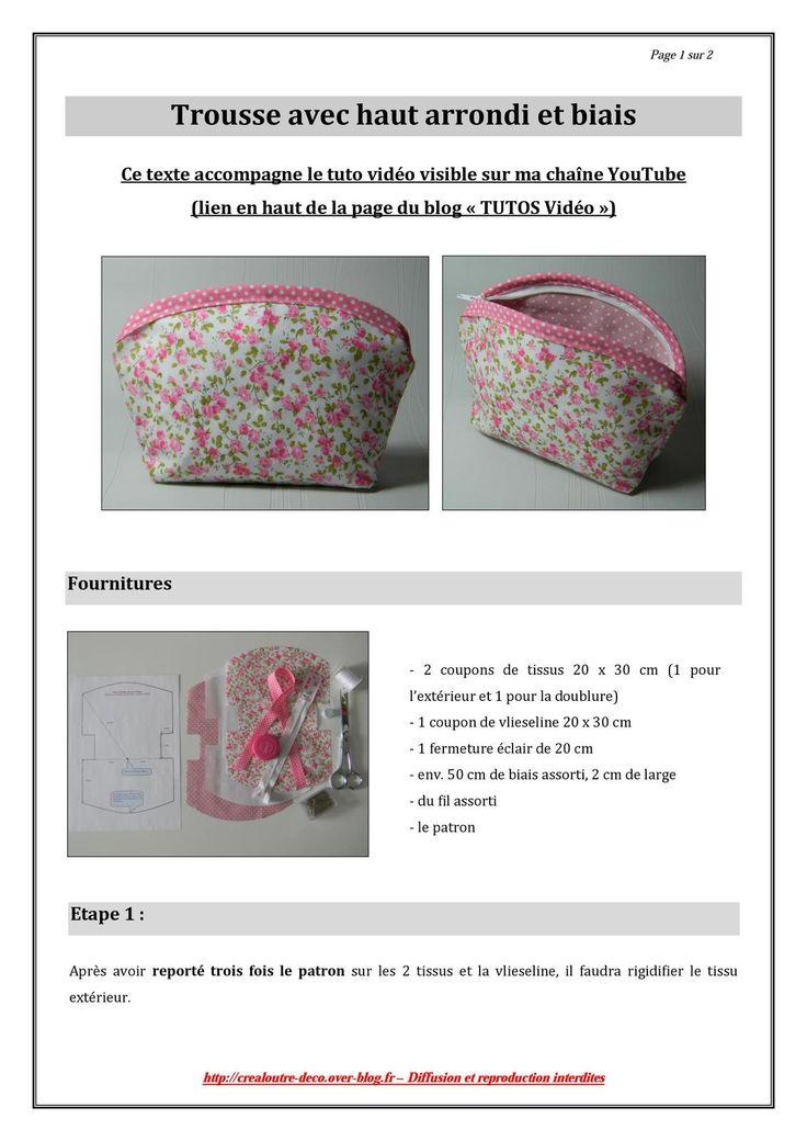 Exceptionnel 983 best DIY couture sacs, pochettes, trousses images on Pinterest  QP69