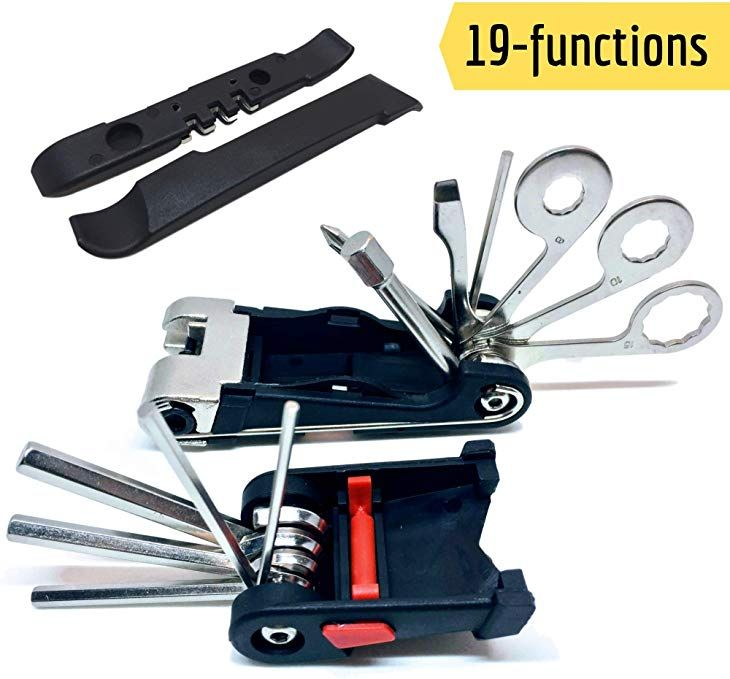 Sigtuna Bike Tool Kit Sturdy 19 In 1 Bike Multitool Repair Kit