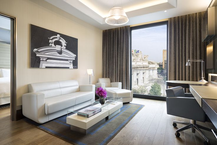 Wake up to a room with a view in Milan. Enjoy a unique suite collection in the heart of the fashion capital.