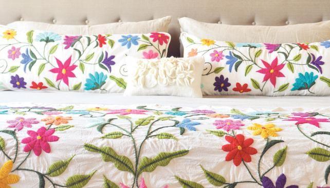 diseños para bordar a mano almohadones - Buscar con Google